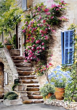 Saint jeannet -Provence