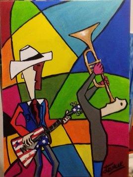 Les joueurs de jazz