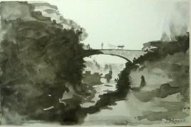 pont de basse vallee st-philippe ile de la reunion lontant