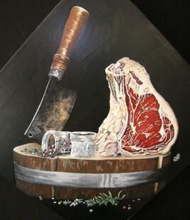 « La Feuille et le Boucher »