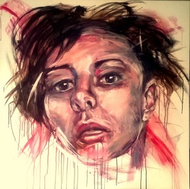 Peinture Série N portrait 08