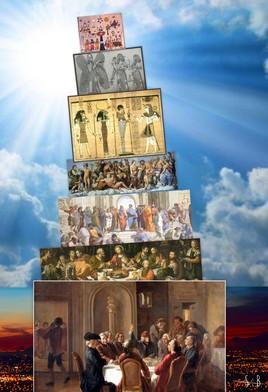 Tour de Babel, de pise et divine ...