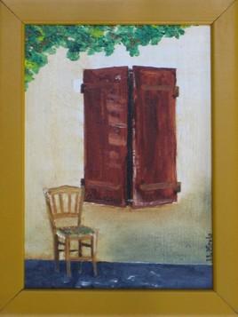 Peinture La chaise