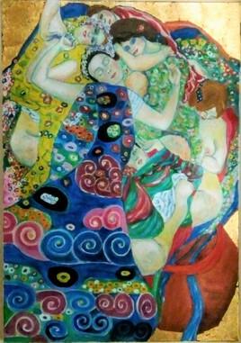 Clin d'oeil à Klimt