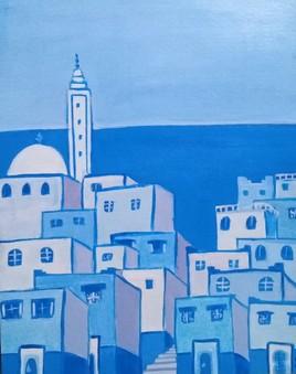 La ville bleue