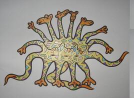 Créature à 4 têtes