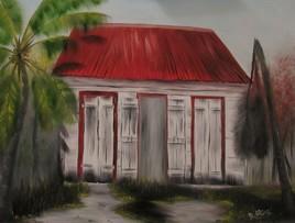 La case créole de Guadeloupe!!