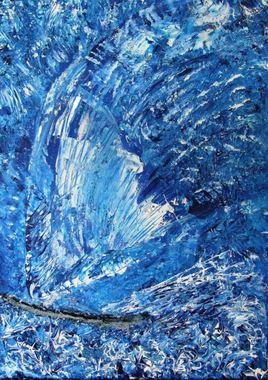 bleu tempète