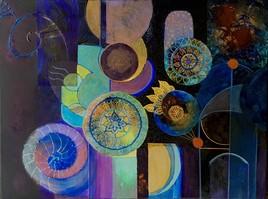 Mandalas abstraits