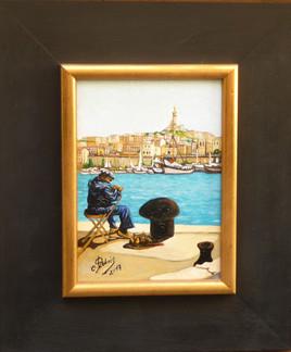 le pecheur de sardine (vieux port a MARSEILLE)