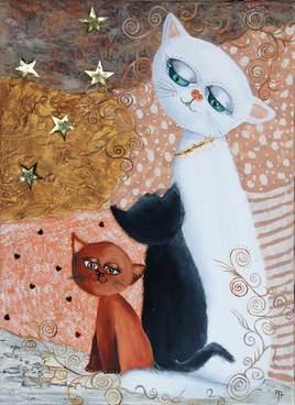 Peinture mam'chat