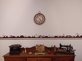 Peinture murale  ''Frise''