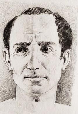 Essai de restitution du portrait de J. César