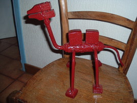 chameau rouge