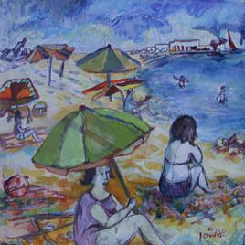 Saintes Maries de la Mer, plage