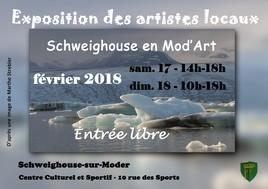 EXPO des ARTISTES LOCAUX 2018