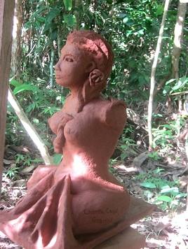 Sculpture Union du féminin et masculin