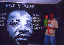 Fresque I HAVE A DREAM