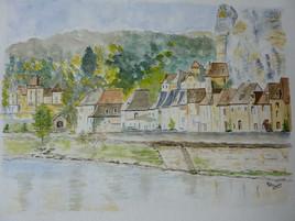 LA ROQUE GAGEAC en Dordogne