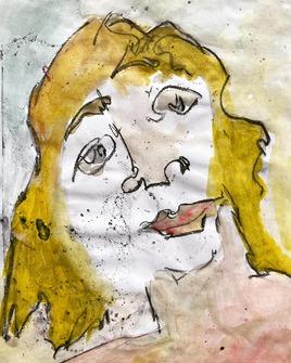 « La femme cha-virée ».
