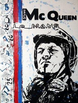 """Steve Mc Queen, """"Le Mans"""""""