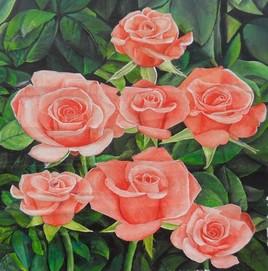 des roses ( pour la fete ) )