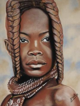 1 jeune Himba