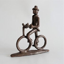 Cycliste de ville