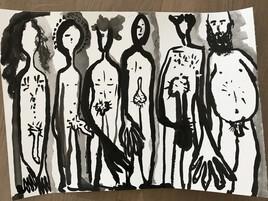 Les hommes nus