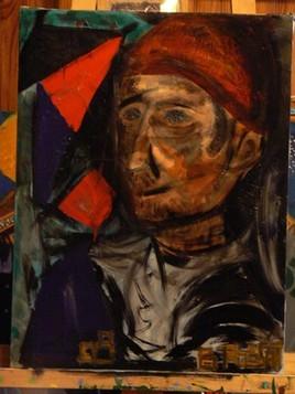 Autoportrait au bonnet