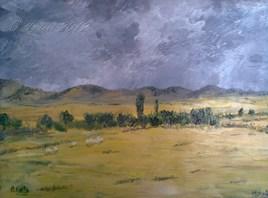 ciel gris en été (Maroc)
