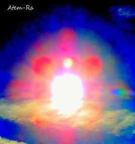 soleil du 31 octobre en lumière