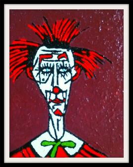 Clown Rouge
