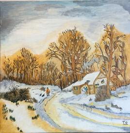 Promenade hivernale ardéchoise