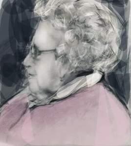 Ma défunte tante Odette...