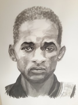 Will Smith (encre de chine)