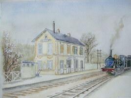 La vieille gare, Savigny-sur-Orge