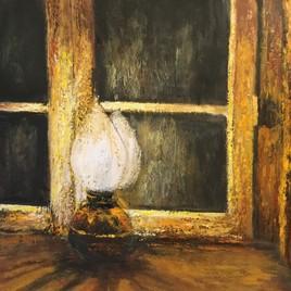 La lampe en cuivre