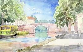Le Somail-Canal du Midi