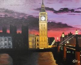 Londres dans la nuit