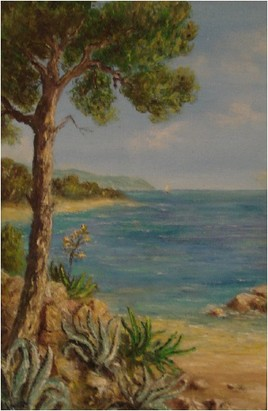 Peinture Les oursinières