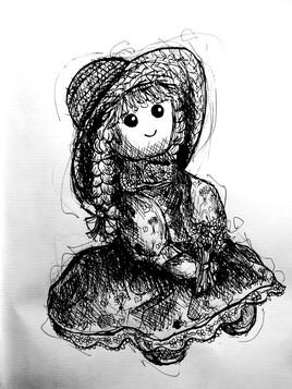 Ma poupée de mon enfance