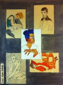 si Egon Schiele m'était conté......
