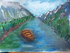 Sur le fjord
