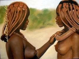 Amitié Himba...