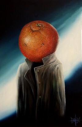 Tête d'orange
