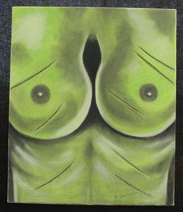 les seins verts