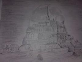 mont St Michel avec 2 grammes