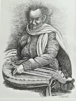 Le joueur de Vielle à roue