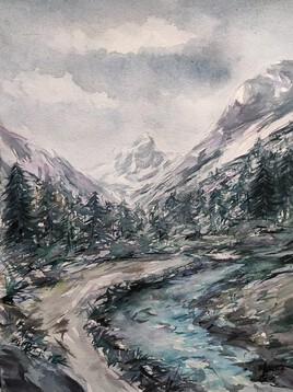La vallée du Lutour